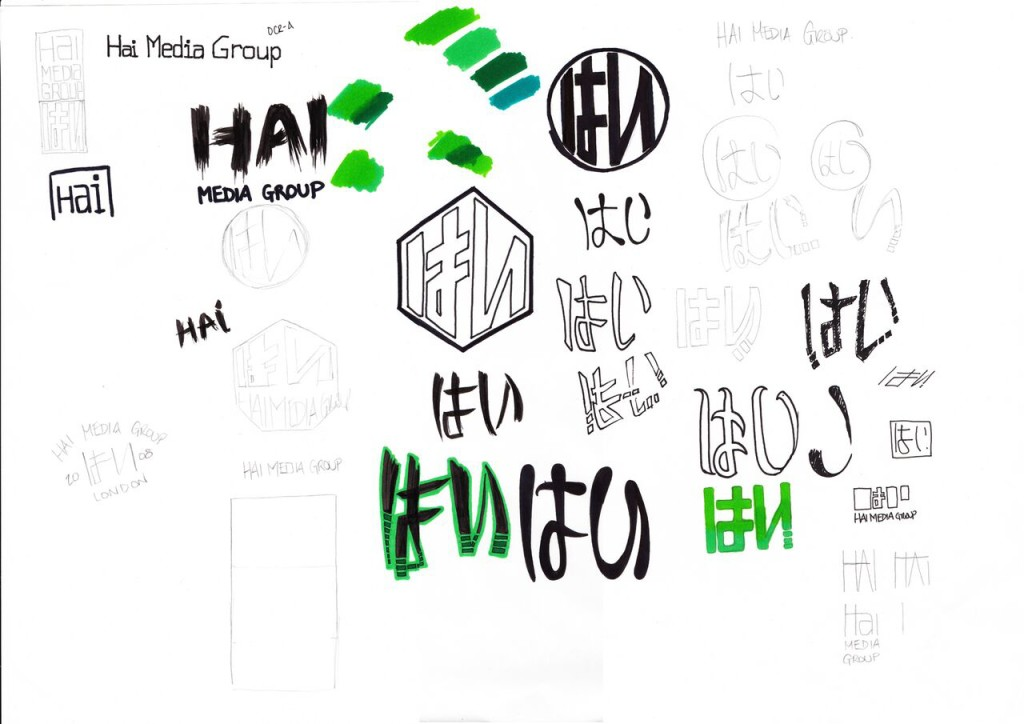 HMG Logo Sketch